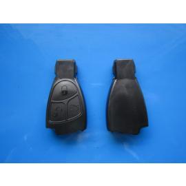 Carcasa cheie Mercedes 3 butoane neagra