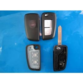 Carcasa cheie Nissan 2 butoane cu lamela NSN14 briceag