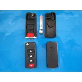 Carcasa cheie Nissan 4 butoane cu lamela Almera NSN14