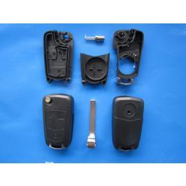 Carcasa cheie Opel 3 but Astra H lamela HU100 cu loc baterie